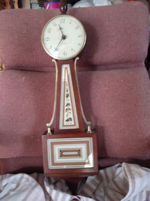 Seth Thomas Banjo Clock - Antique for Sale in New Smyrna Beach, FL