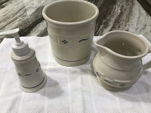 Longaberger pottery set for Sale in Fort Myers, FL