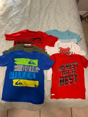 Boy shirts size 4t and 5t for Sale in San Bernardino, CA