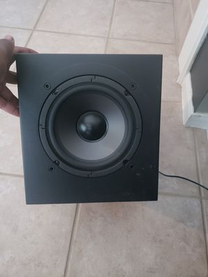 8 in polk audio home theater subwoofer for Sale in Houston, TX