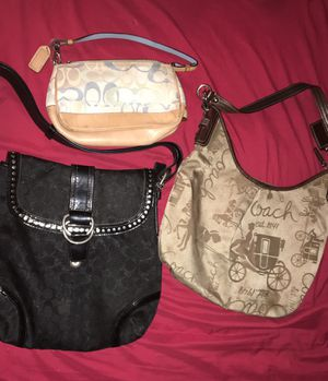 Coach purse lot for Sale in Indianapolis, IN
