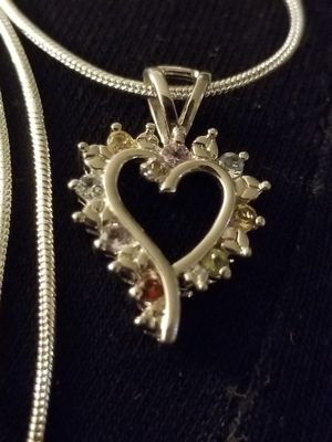 BEAUTIFUL HEART WITH PRECIOUS STONES for Sale in Denver, CO
