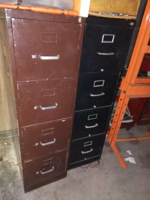 2 file cabinets....NO KEYS!!!! for Sale in Houston, TX