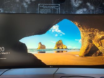 "34"" Curved Ultra Wide Monitor for Sale in Fairfax,  VA"