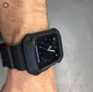 Apple Watch with unicorn beetle band and case 42 mm space grey for Sale in Pittsburgh, PA