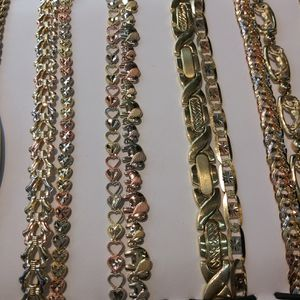 Esclavas de oro 14k garantizado 299$ and up for Sale in Pomona, CA
