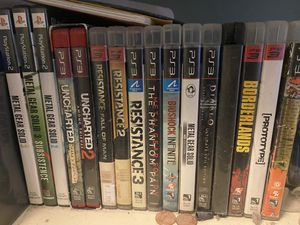 Ps2 and ps3 games for sale. for Sale in Upland, CA