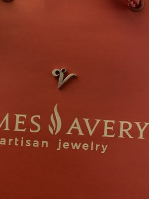 James Avery initial charm for Sale in Houston, TX