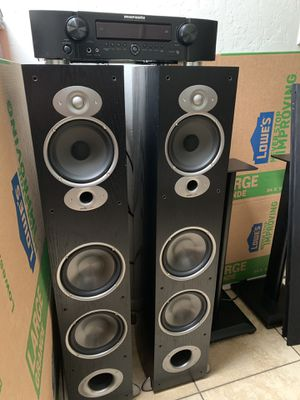 Polk Audio Speakers Marantz Stereo Receiver for Sale in Phoenix, AZ
