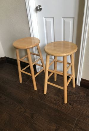 Wooden stools for Sale in Katy, TX