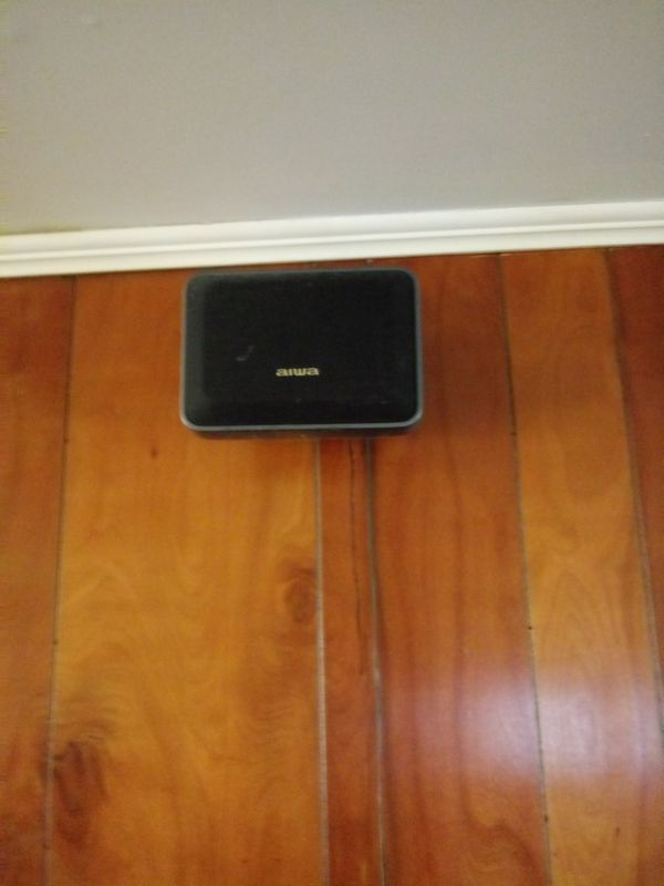 Cerwin-Vega Speakers with Sony Sub and entertainment center.