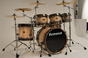 Ludwig Epic Series 5 pc Drum Set for Sale in Columbia, MD