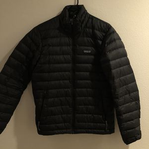 Patagonia Down Puffy Jacket - Black - Small for Sale in Carlsbad, CA