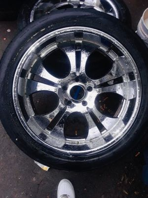 23 inch Nitto rims & Tires for Sale in Murfreesboro, TN