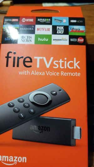 New, unopened, Amazon fire tv stick with Alexa voice remote for Sale in Los Angeles, CA