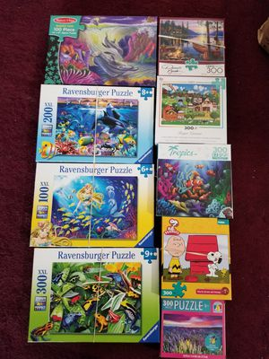 Puzzles Ravensburger and Buffalo for Sale in Hillsboro, OR