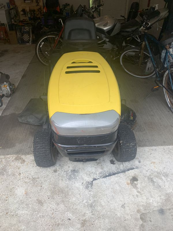 Stanley 19HP twin engine lawn tractor