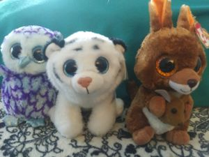 TY Beanie Boo Trio (med. sized) Collectible Toys for Sale in Olympia, WA