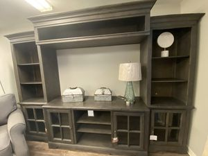 TV STAND BRAND NEW RETAIL PRICE $1999 NOW FOR $1499 TAKE HOME $40 FOWN PAYMENT for Sale in Nashville, TN