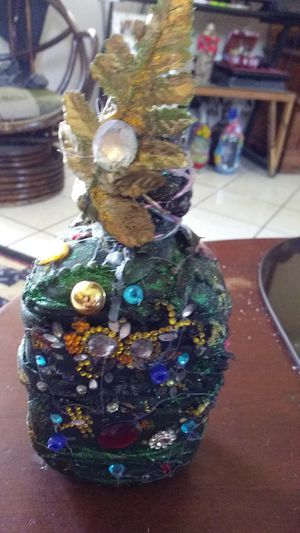 Buchanas decorated bottle, beautiful! for Sale in Santa Ana, CA