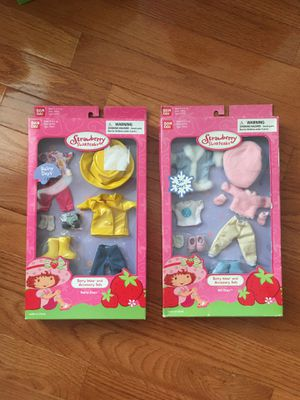 NEW Strawberry Shortcake Bandai Doll Clothes for Sale in Herndon, VA