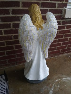Hand-Painted Concrete Angel for Sale in Phenix, VA