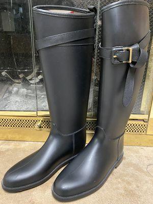 Authentic Burberry Rain Boots for Sale in Joliet, IL