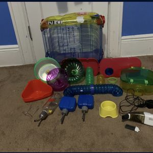 Hamster Cage & Supplies Bundle for Sale in Brooklyn, NY