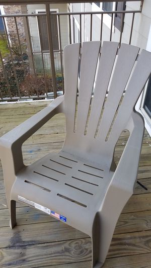 Adirondack Chair Grey for Sale in Ashburn, VA