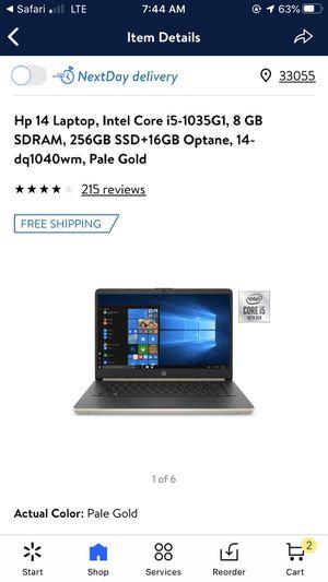 HP laptop for Sale in Miami Gardens, FL