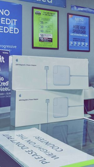 Apple - 60W MagSafe 2 Power Adapter (MacBook Pro with 13-inch Retina Display)! Brand New in Box! One Year Warranty! for Sale in Arlington, TX