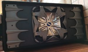 Kicker L7 Solobaric 12' sub with Kicker Amp KX600.1 for Sale in San Francisco, CA