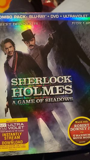 Sherlock Holmes a game of shadows for Sale in Santa Ana, CA