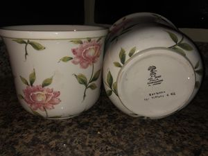 FLOWER POTS For Tiffany and Co. HANDPAINTED for Sale in Salt Lake City, UT