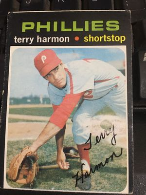 Baseball card 1971 Terry Harmon autographed for Sale in Norwalk, CA