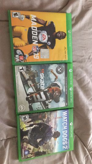 Xbox one games for Sale in San Angelo, TX
