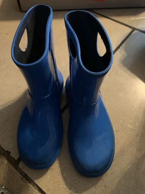 Ugg Kids Rain Boots Size Girls 12 for Sale in Los Angeles, CA