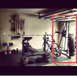 Punching bag/pull-up bar/dips stand station for Sale in Scottsdale, AZ