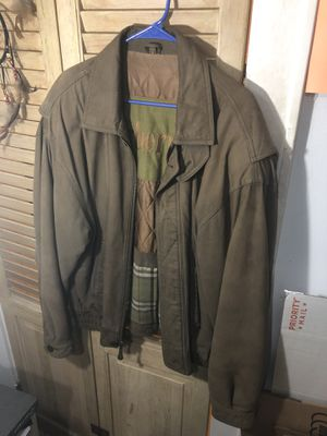 Used Burberrys authentic leather jacket for Sale in Brick Township, NJ