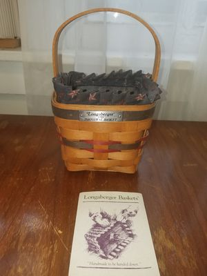 1993 Longaberger Inaugural basket for Sale in Elizabethtown, PA
