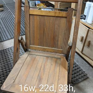 Wooden Folding Chairs for Sale in Suttons Bay, MI