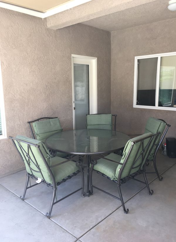 Patio Furniture Set Table Chairs For Sale In Fresno Ca