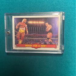 1985 OPC Hulk Hogan & King Kong Bundy WrestleMania 2 Cage Match for Sale in Livonia,  MI