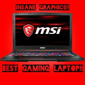 MSI LAPTOP, THE BEST IN GAMING! for Sale in Los Angeles, CA