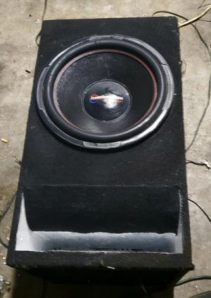 American Bass XD15D1 4000 watts in custom box for Sale in Hesperia, CA