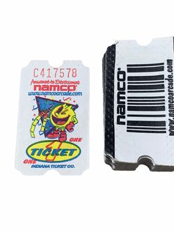Namco PacMan Arcade Video Game Tickets Pac Man for Sale in Aloha,  OR