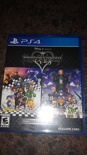 Kingdom Hearts HD 1.5 +2.5 PS4 Sealed New for Sale in Lake Hamilton, FL