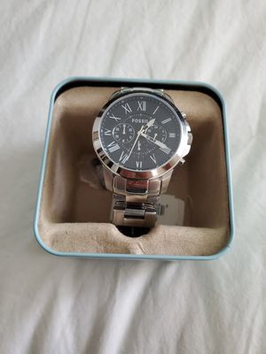 Mens Fossil SS watch ⌚ NEW! for Sale in Pompano Beach, FL