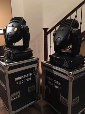 PR Lighting PR-2575 575W Spot Package (4) for Sale in Redlands, CA