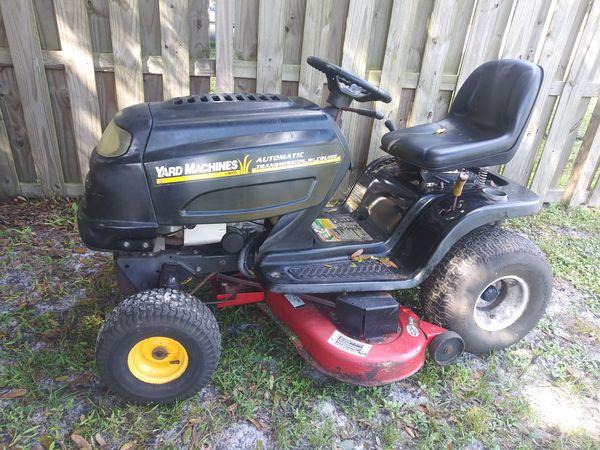 Ride mower
